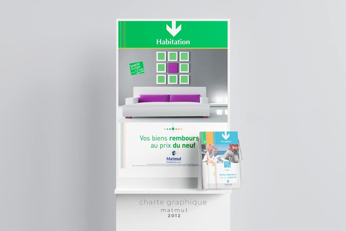 Charte graphique affiche et flyers 2012